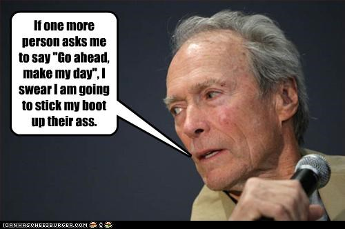 Badass Clint Eastwood dirty harry movies questions - 2222499072