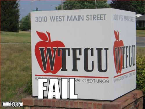 acronym,banks,business,credit unions,failboat