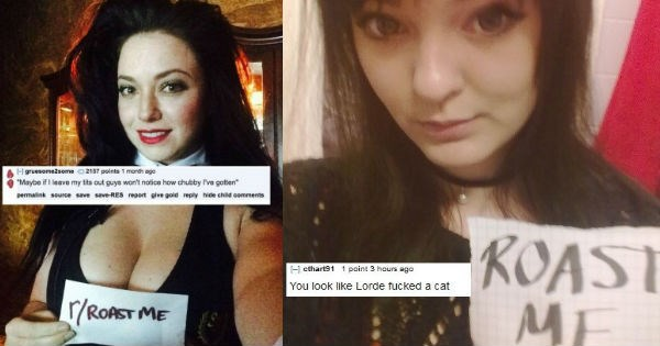 Hot girls who asked the internet to insult them with brutal series of roasts on Reddit.