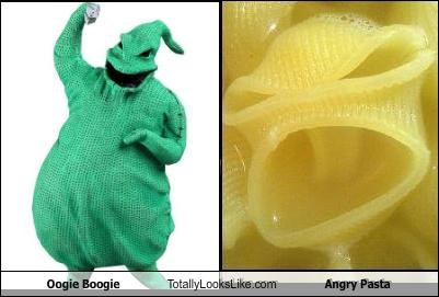 angry food oogie boogie pasta the nightmare before christmas