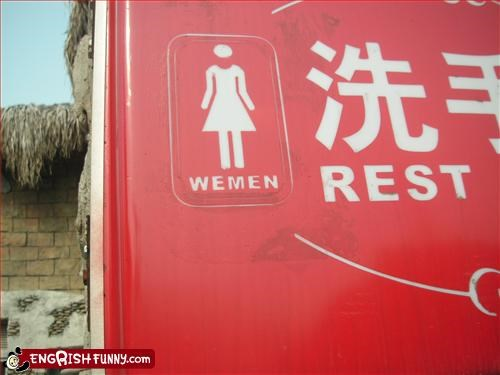g rated,signs,toilet,women