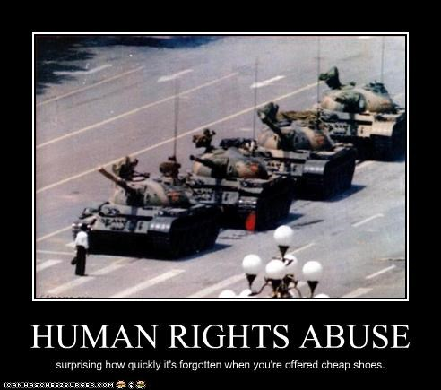 China human rights protesters tank Tank Man tiananmen square - 2230041856