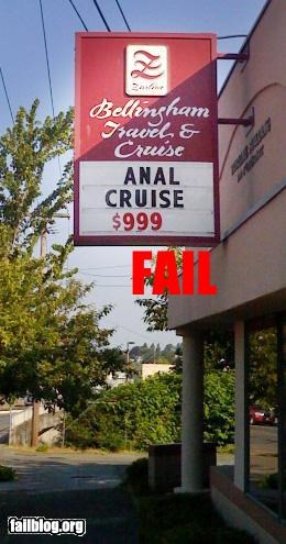 Cruise Fail A different kind of cruise.