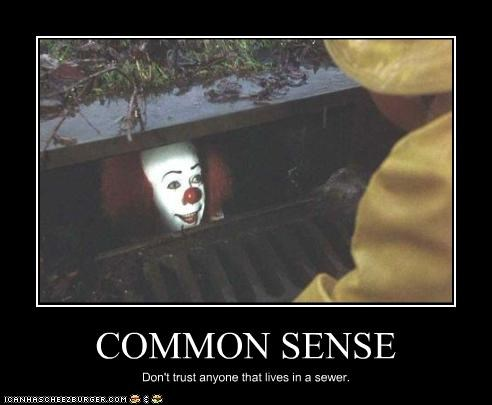 clowns,creepy,pennywise the clown,scary,tim curry
