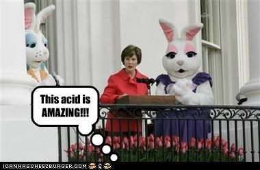 drugs,easter,Laura Bush,White house