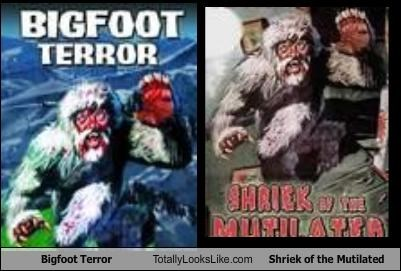 bigfoot,book covers,books,covers,terror