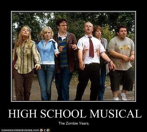 HIGH SCHOOL MUSICAL The Zombie Years.