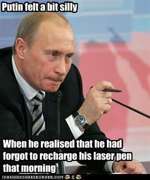 laser,president,prime minister,Vladimir Putin