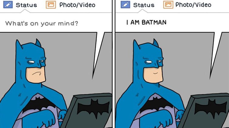 funny webcomics featuring Batman, dolphins, Groot, mythology, Link, Zelda, mimes, owls, animals.