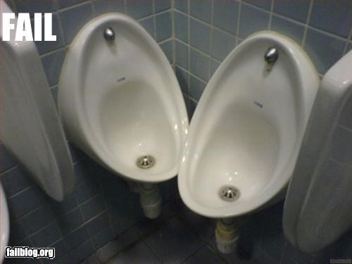 Awkward bathroom g rated placement uncomfortable urinal - 2243122944