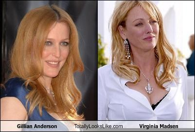 Gillian anderson look alike photos 550