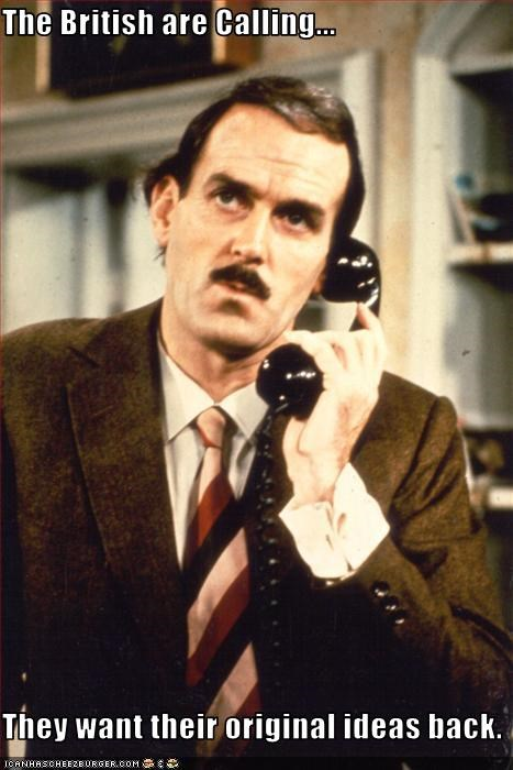 british comedy fawlty towers John Cleese monty python - 2247124224