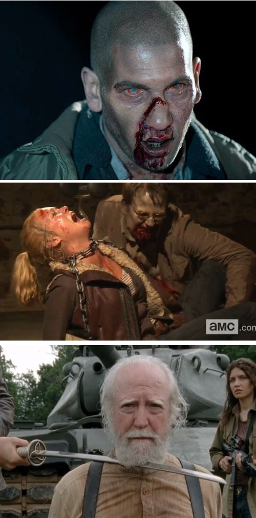 list,finale,The Walking Dead,main character deaths