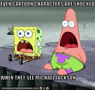 Even Cartoon Characters Are Shocked When They See Michael