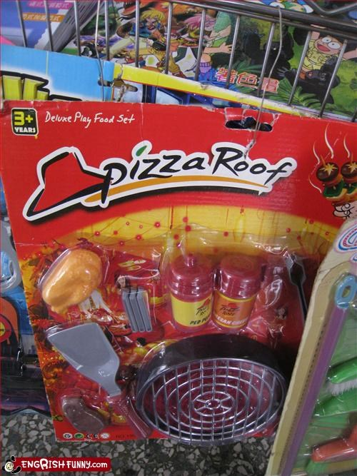 business fast food g rated name pizza roof toys - 2255630080