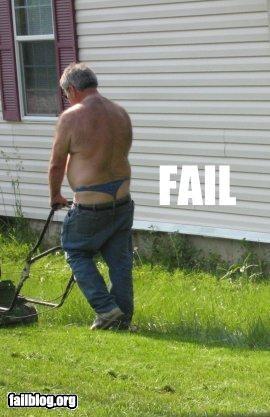 belt g string guy mowing plumbers crack thong underwear - 2256086784