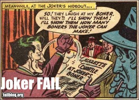 batman boner comic books innuendo the joker - 2256853248