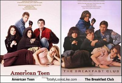 american teen covers DVD movies the brat pack the breakfast club