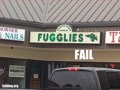 bar Bar Name business name Fail-Win failboat poll - 2259950336