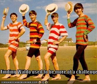 classics george harrison john lennon Music paul mccartney ringo starr the Beatles wheres waldo - 2265152768