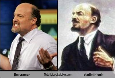 cnbc,communist,jim cramer,mad money,russia,TV,vladimir lenin