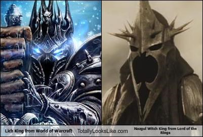 Lich King From World Of Warcraft Totally Looks Like Nazgul Witch