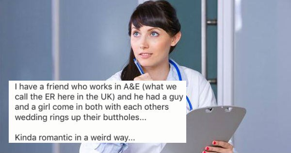 ER doctors share the craziest excuses they've ever received from people for shoving things up their butt.
