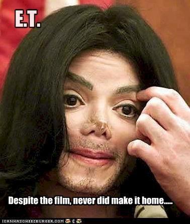 E.T. Despite the film, never did make it home.....
