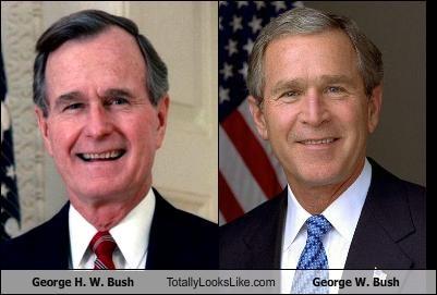 George H W Bush Totally Looks Like George W Bush Cheezburger