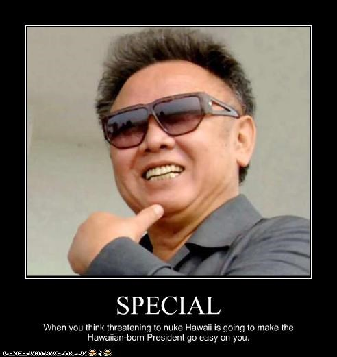 communism dictator Hawaii Kim Jong-Il North Korea nuclear weapons