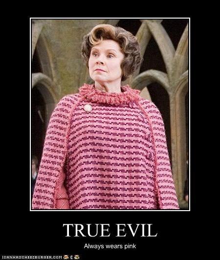 evil Harry Potter imelda staunton pink sci fi villains