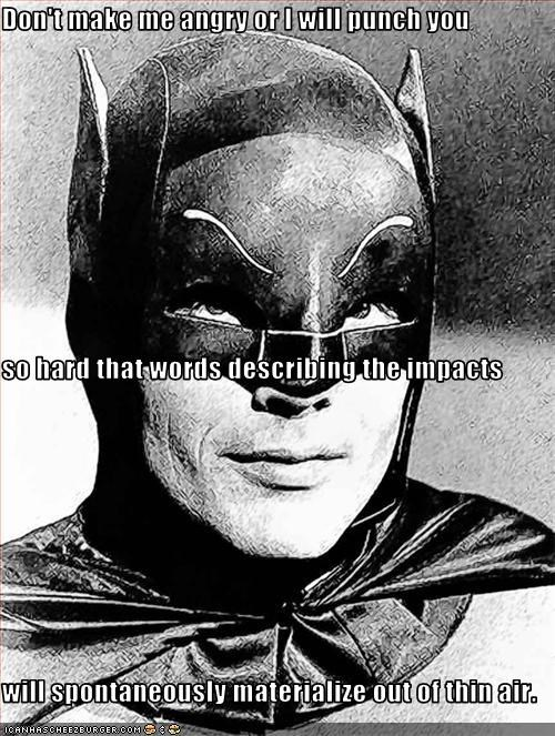 Adam West angry batman comic book characters - 2293064448