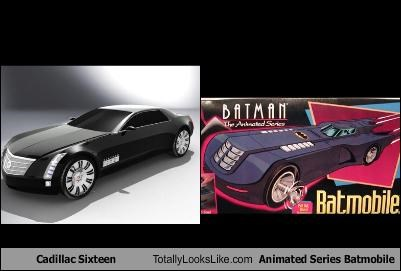 Cadillac Sixteen Totally Looks Like Animated Series Batmobile