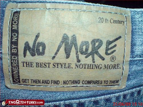 best,clothing,g rated,jeans,label,owned,pants,style