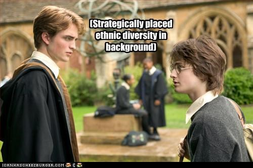 Daniel Radcliffe,diversity,ethnic,Harry Potter,movies,robert pattinson,sci fi