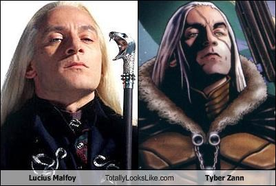 Lucius Malfoy Totally Looks Like Tyber Zann