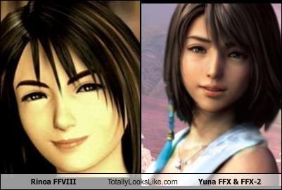 Rinoa Ffviii Totally Looks Like Yuna Ffx Ffx 2 Cheezburger