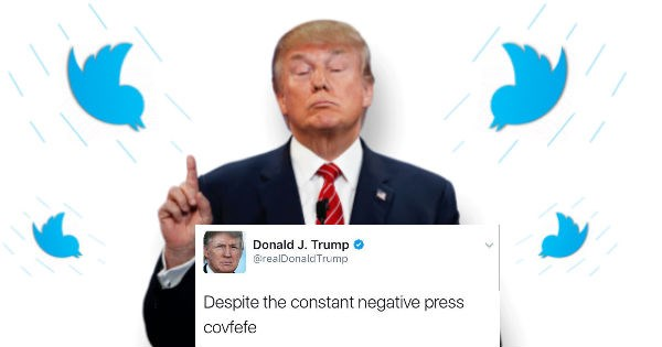 Donald Trump misspells tweet about news coverage and confuses the entire nation.