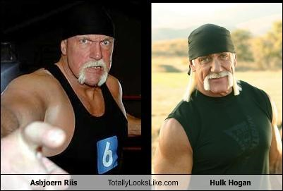 asbjoern riis,celeb,Hulk Hogan,wrestlers