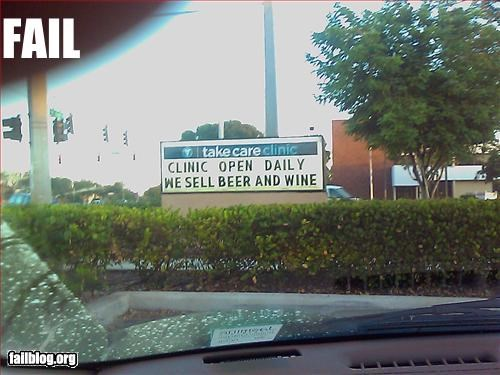 beer,clinic,doctor,g rated,signs,wine