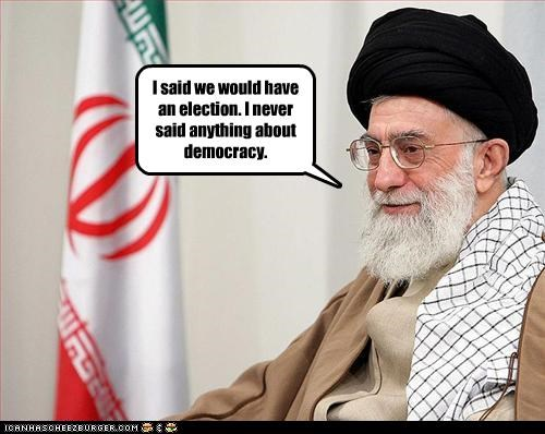 ayatollah ali khamenei,democracy,dictator,elections,iran,supreme leader,theocracy