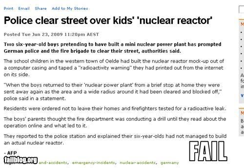 g rated,kids,news,nuclear,police,weapons
