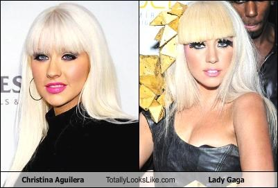 Christina Aguilera Totally Looks Like Lady Gaga