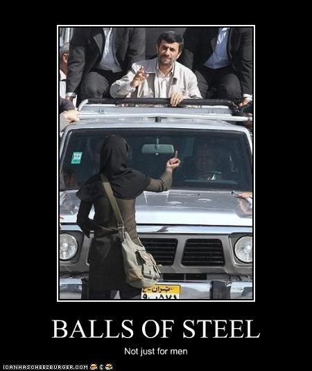BALLS OF STEEL Not just for men