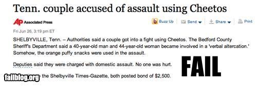 article,assault,cheetos,food,g rated,news,snacks,weapons