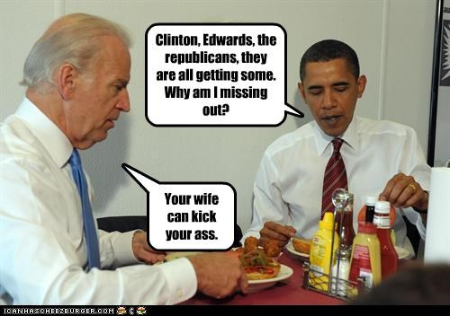 affairs bill clinton cheating democrats joe biden John Edwards mistress president Republicans