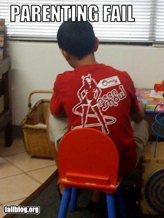 child clothing parenting peep show T.Shirt - 2335660288