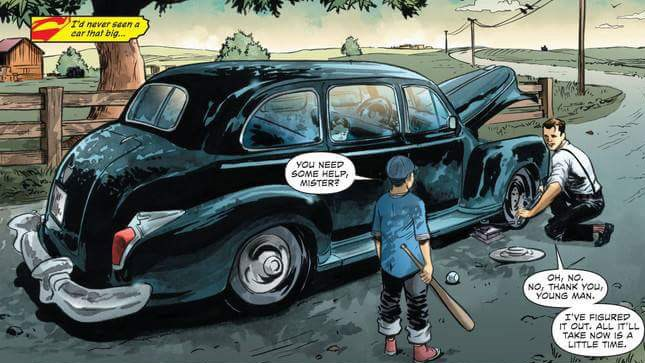 Web comic about Bruce Wayne - Batman - and Clark Kent - Superman - meeting as young boys.
