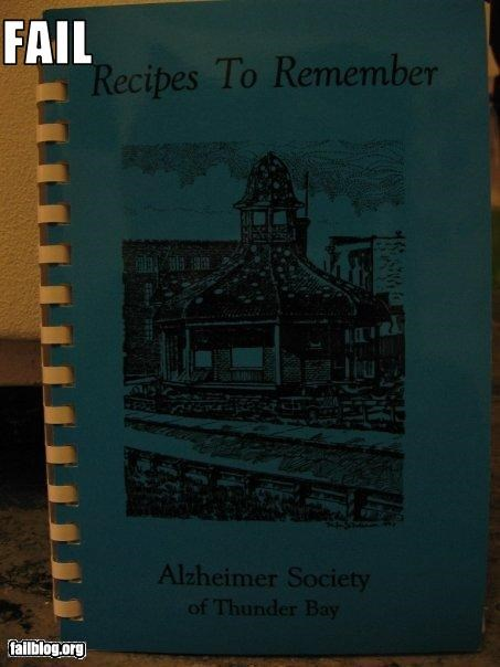 alzheimers-disease book cooking irony memory loss remember - 2340548864