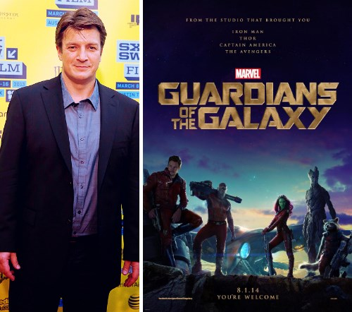nathan fillion casting guardians of the galaxy